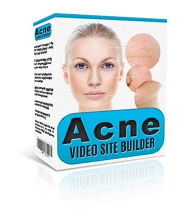 Acne Video Site Builder is a cool,  new,  EASY way to build SEO-friendly Acne Video Sites featuring Ad