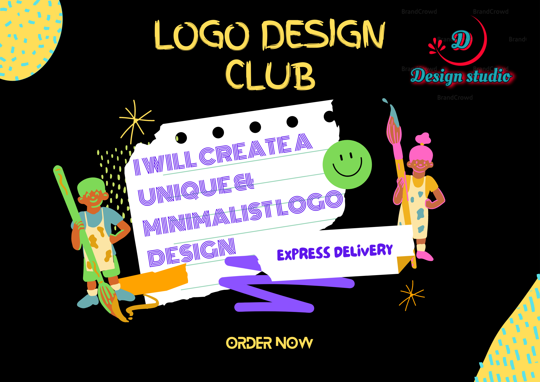 We believe in creating simple yet effective masterpiece logo which blown away your customers mind