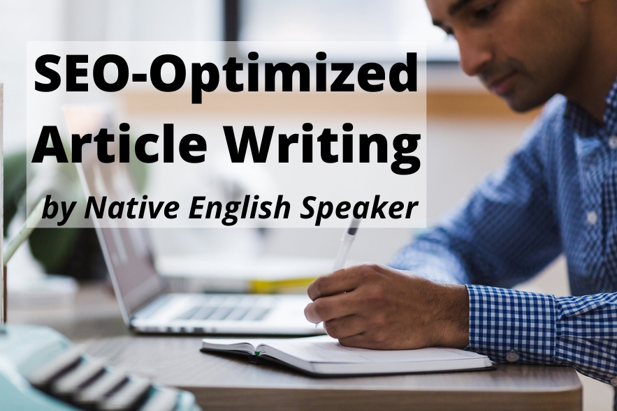 Get 2 Original 500-Word SEO-Optimized Articles by a Native English Speaker