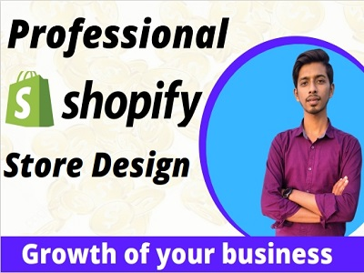 I will design shopify website or dropshiping store