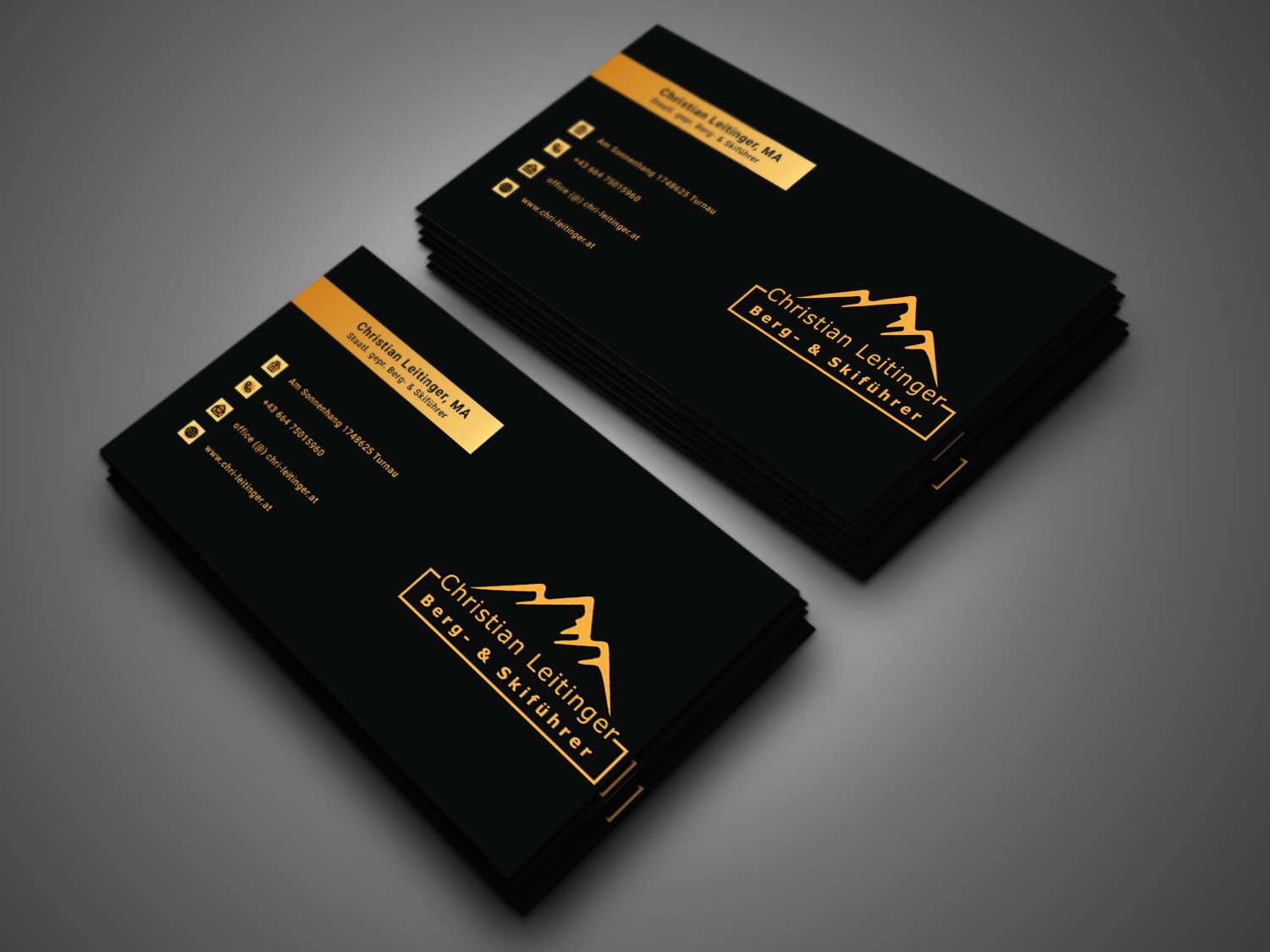 I will do design luxury business and minimalist logo card in 24 hour
