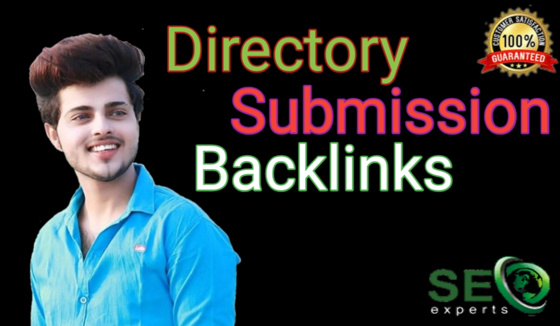 I will create top 100 directory submission SEO backlinks.
