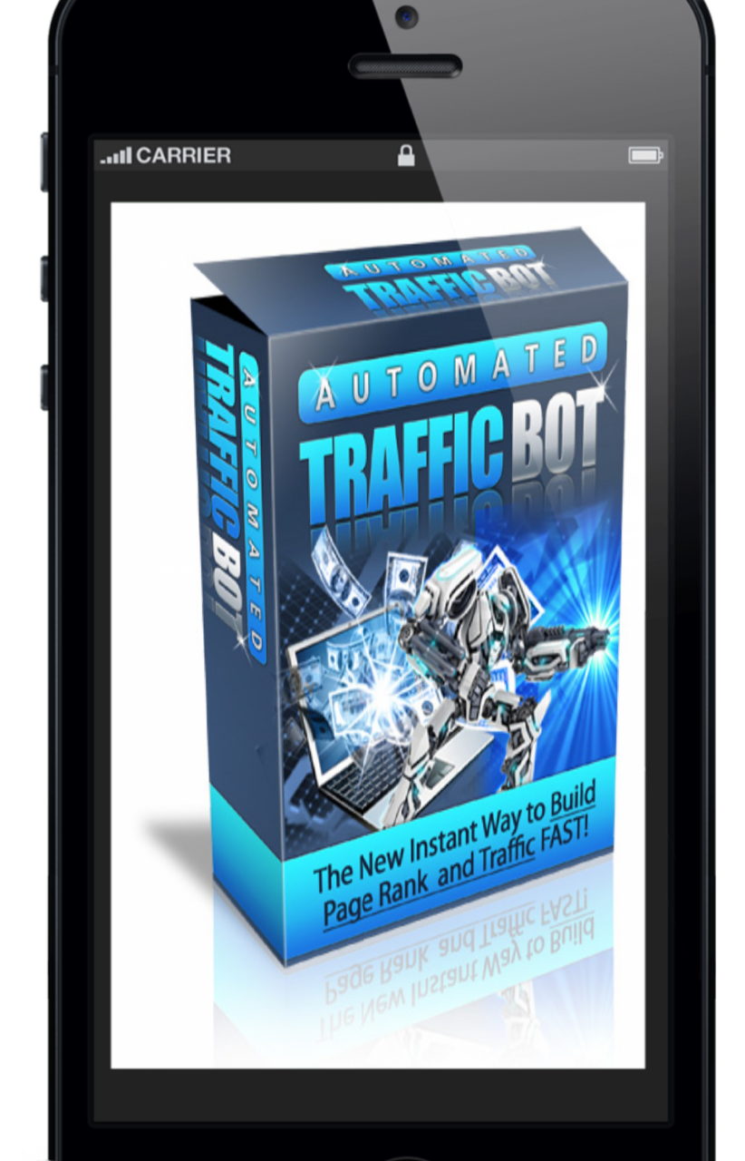 AUTOMOTED TRAFFIC BOT build page rank and traffic fast in your website.