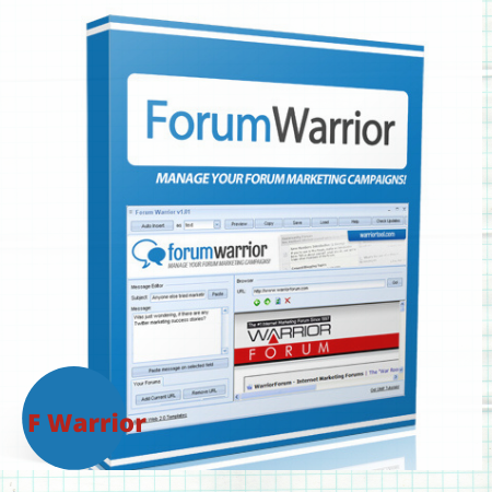 Forum Warrior software for Forum marketing