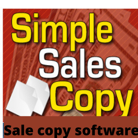 Simple Sales Copy New Software