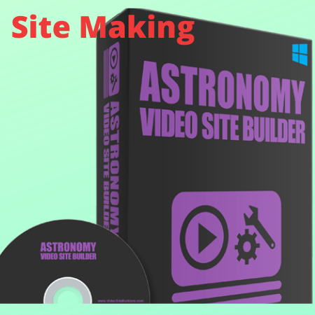 Astronomy Video site Builder software