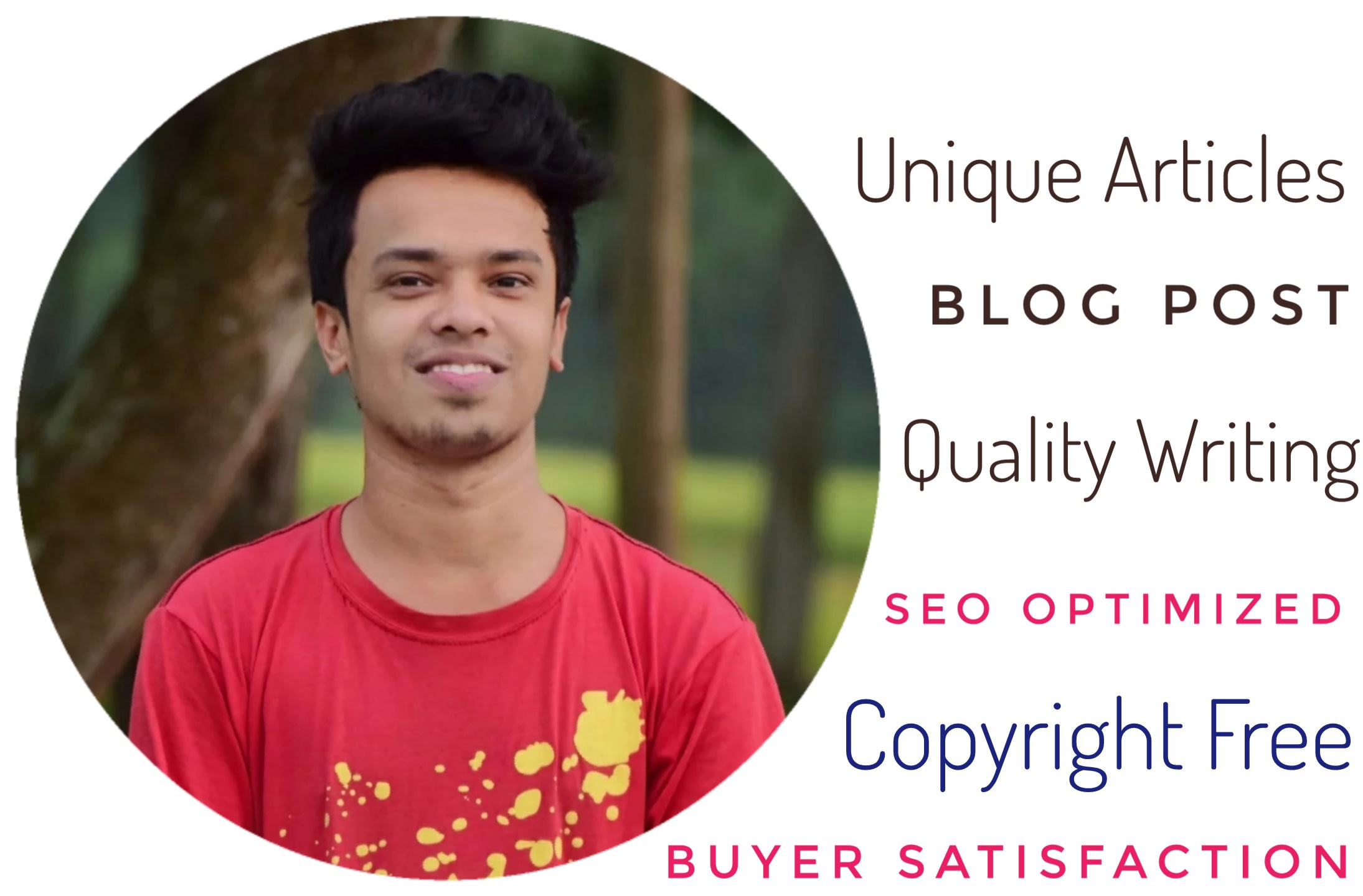 I will compose SEO articles and blog entries for you on any theme