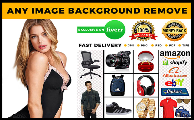 I will do photoshop bulk images editing and background removal
