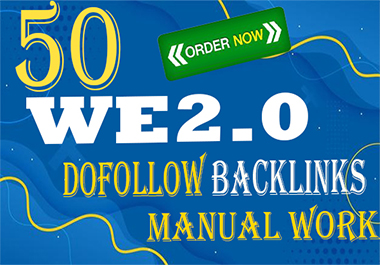 I will build 50 web2.0 backlink seo high quality MANUAL WORK