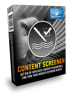 Introducing Content Screener This software helps to check on your freelance writers work.