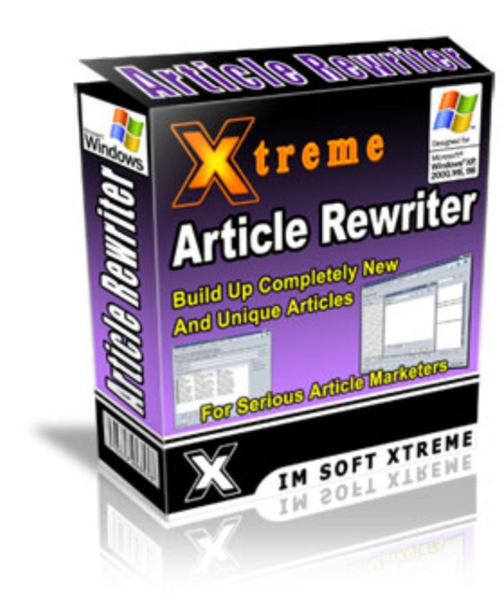 Xtreme article rewriter build up completely new and unique articles for serious article marketers
