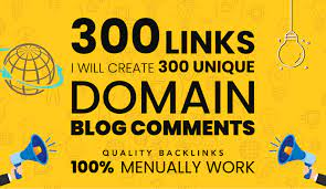 300 Unique Domain Backlinks Dofollow Permanent Homepage