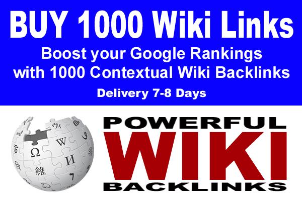 MANUAL 300 HQ Wiki Backlinks LINK BUILDING