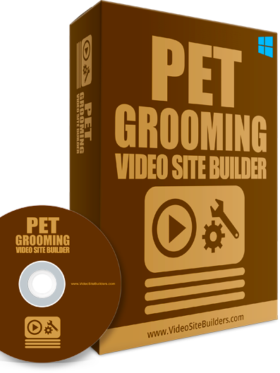 Pet Grooming For video site builder