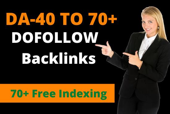 White hat high quality contextual SEO do follow backlinks