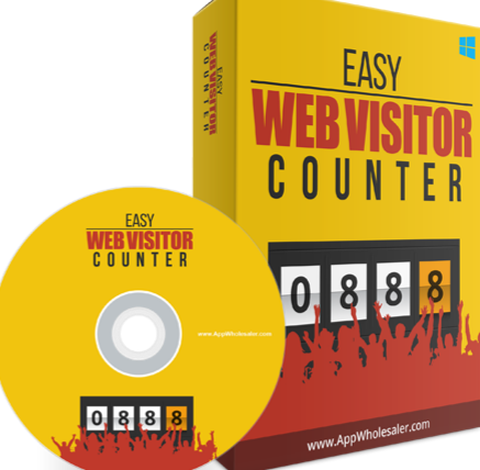 Easy Web Visitor Counter Easy to Use