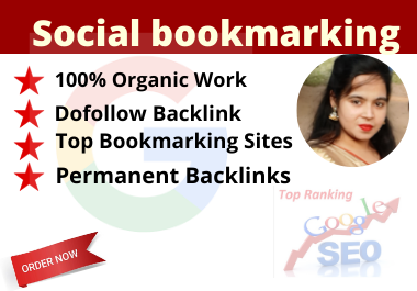 I will do 40 Social Bookmarking Submissions with high DA,  PA Backlinks