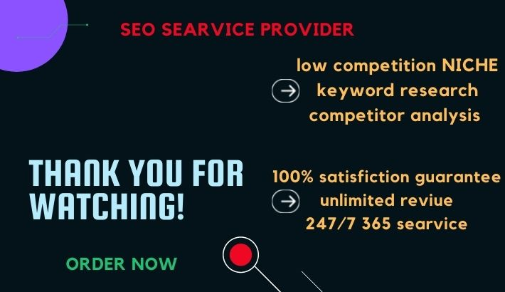 I will do high demand & low competition NICHE Keyword research