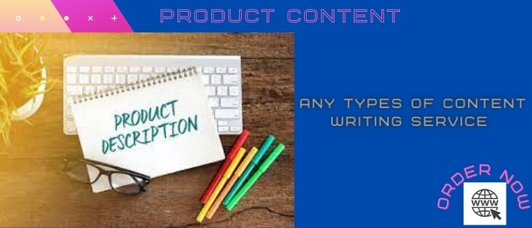 I will do any products content update your websites by writing