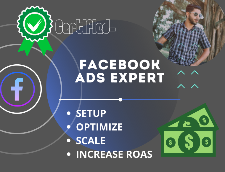 I will set up and optimize and manage your Facebook ads campaign