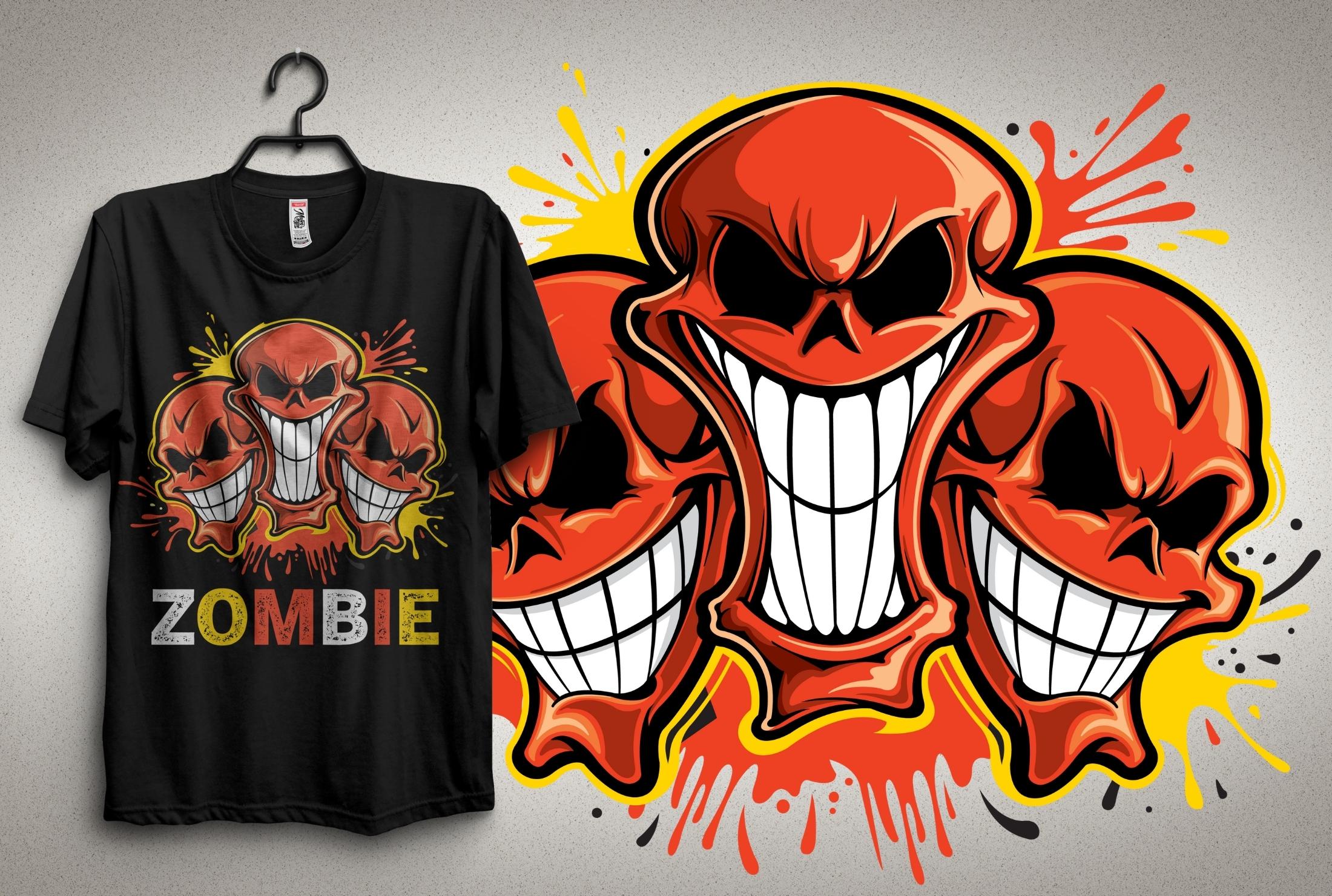 I Will Do illustration T-Shirt Design in 24 hour