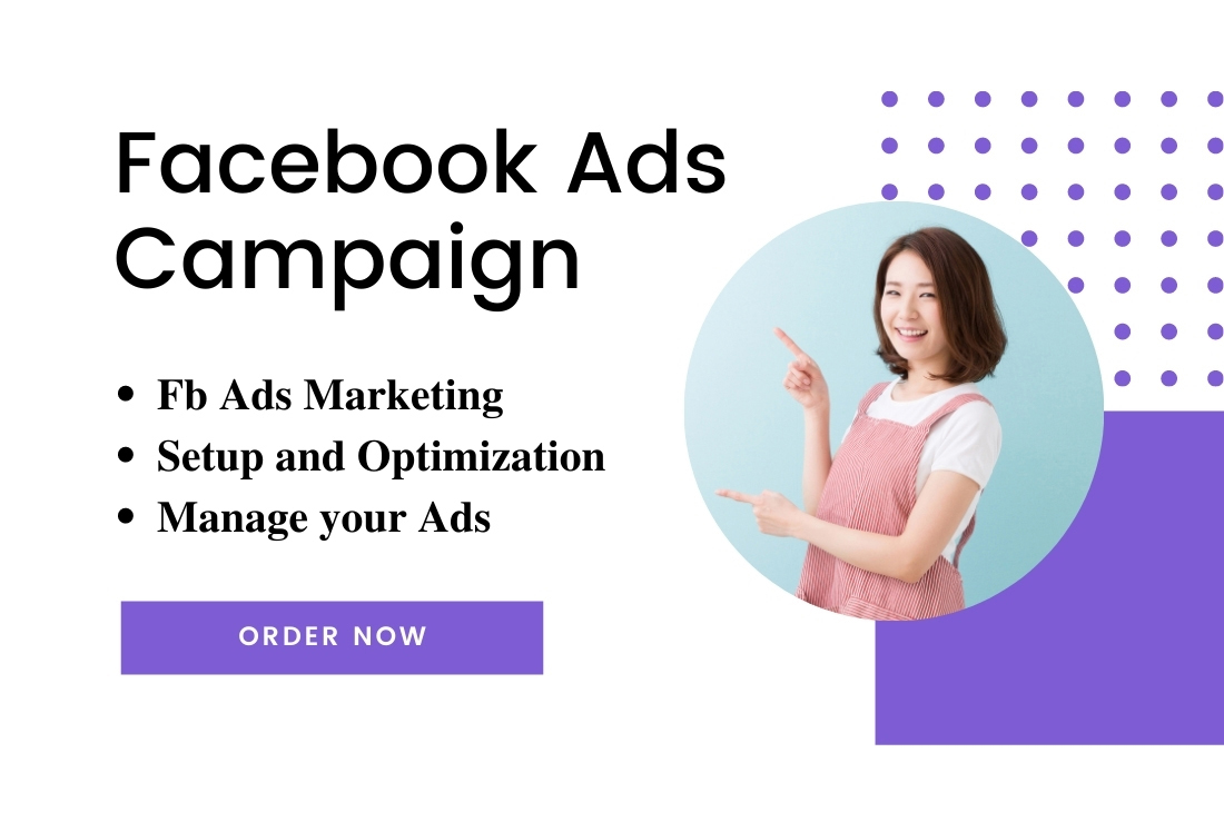 I will be your ads manager and do setup optimize manage your ads