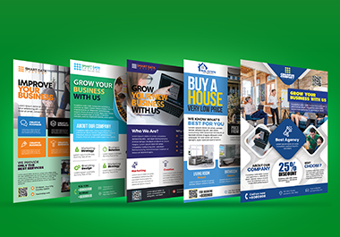 I will design an attractive flyer for print and digital use