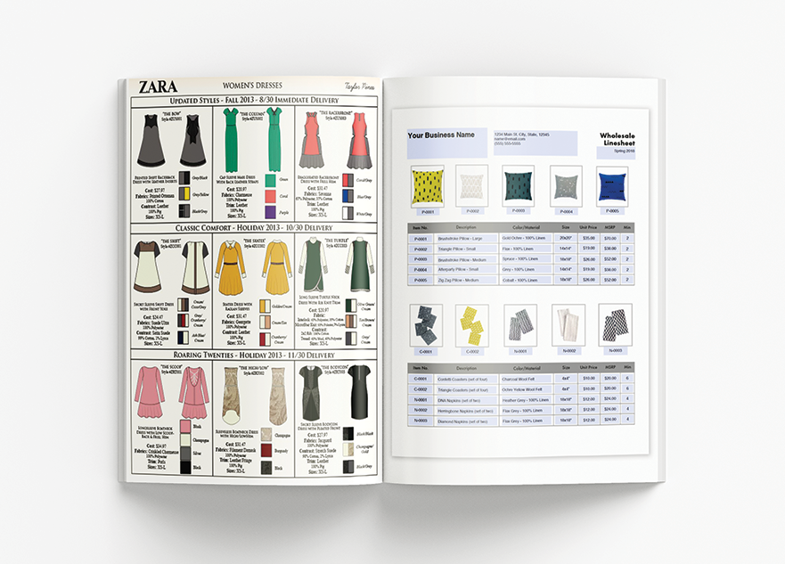 I will design product catalog, lookbook, brochure and booklet