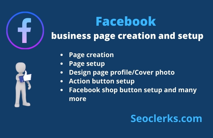 Facebook business page creation and setup
