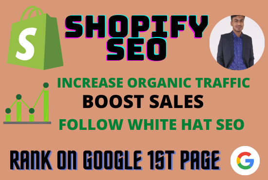 Complete Shopify SEO to grow shopify sales and rank on Google 1st page
