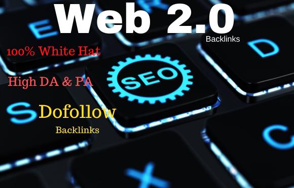 I will manually 50 high authority web 2 0 backlinks