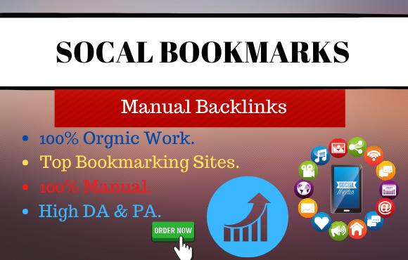 I will create 31 high quality social bookmarks seo backlinks