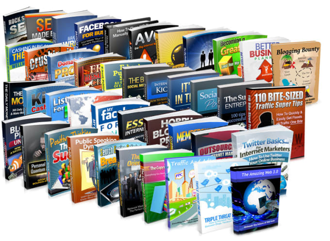 8000+PLR MRR Ebooks Mega Bundle