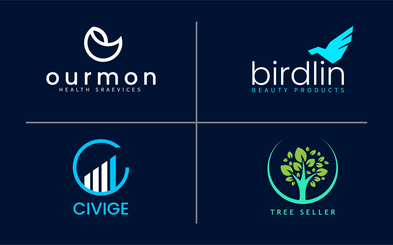 5 Catchy minimalist business logo design