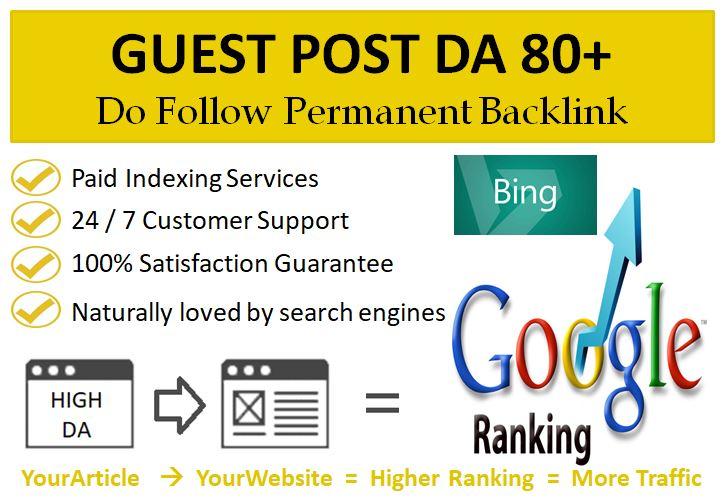 Get Your High DA Do Follow Guest Post