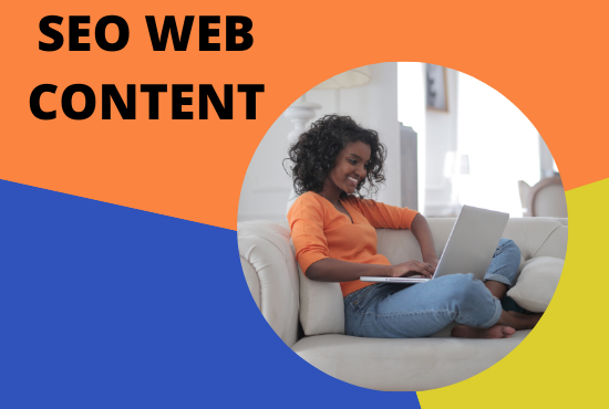 500 word SEO Optimized Web Content and blog post