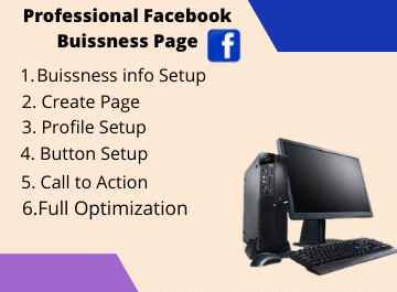 I Will Create Professional & Optimize Facebook Business Page