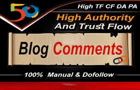 Build 50 High Quality Dofollow Blog comments Backlinks for SEO