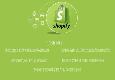 Build Professional Shopify Store Design