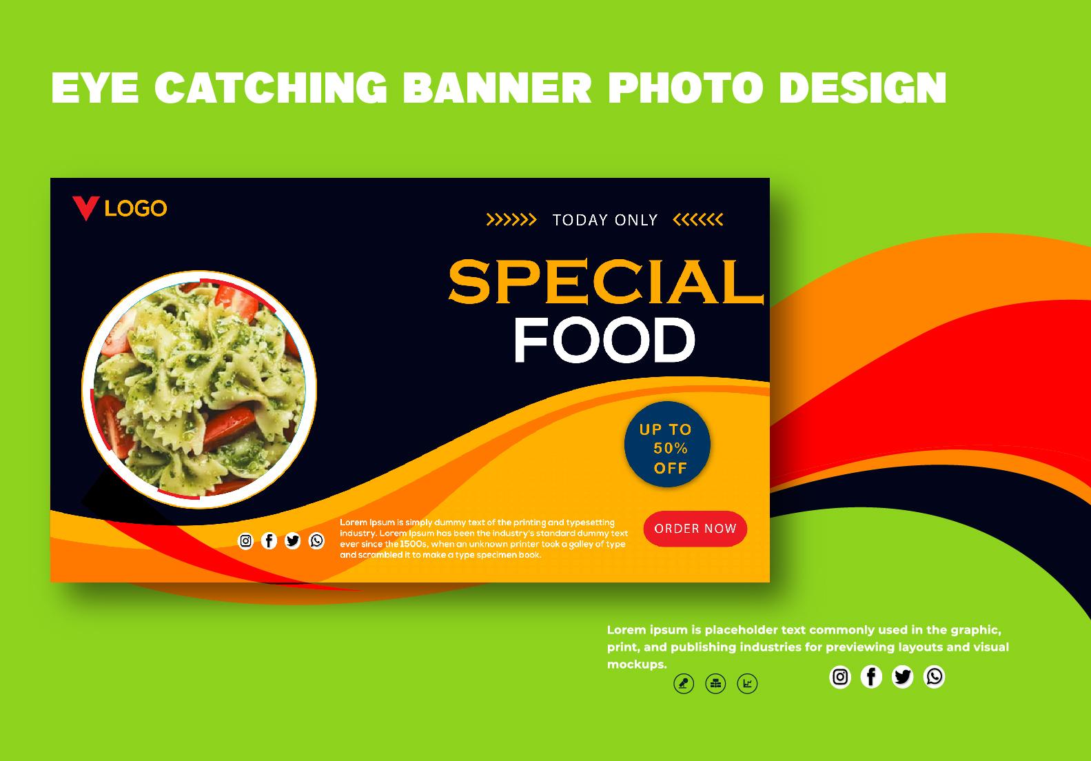 I will do outstanding facebook cover or social media banner design in 24 hours