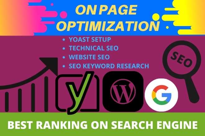 I will do on page SEO optimization services of your WordPress for Google top ranking