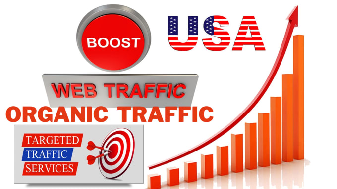 I will drive 20000 USA organic web traffic for your site