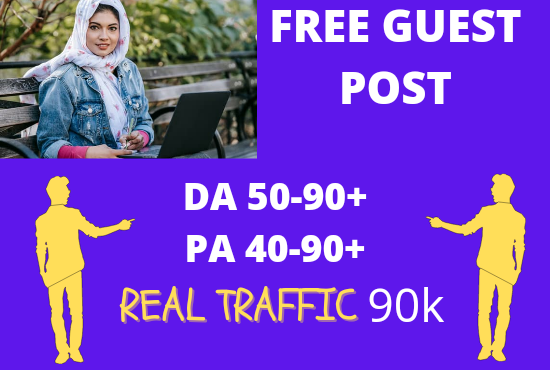I will do 10 free guest posts on 80 da pa google news approved site