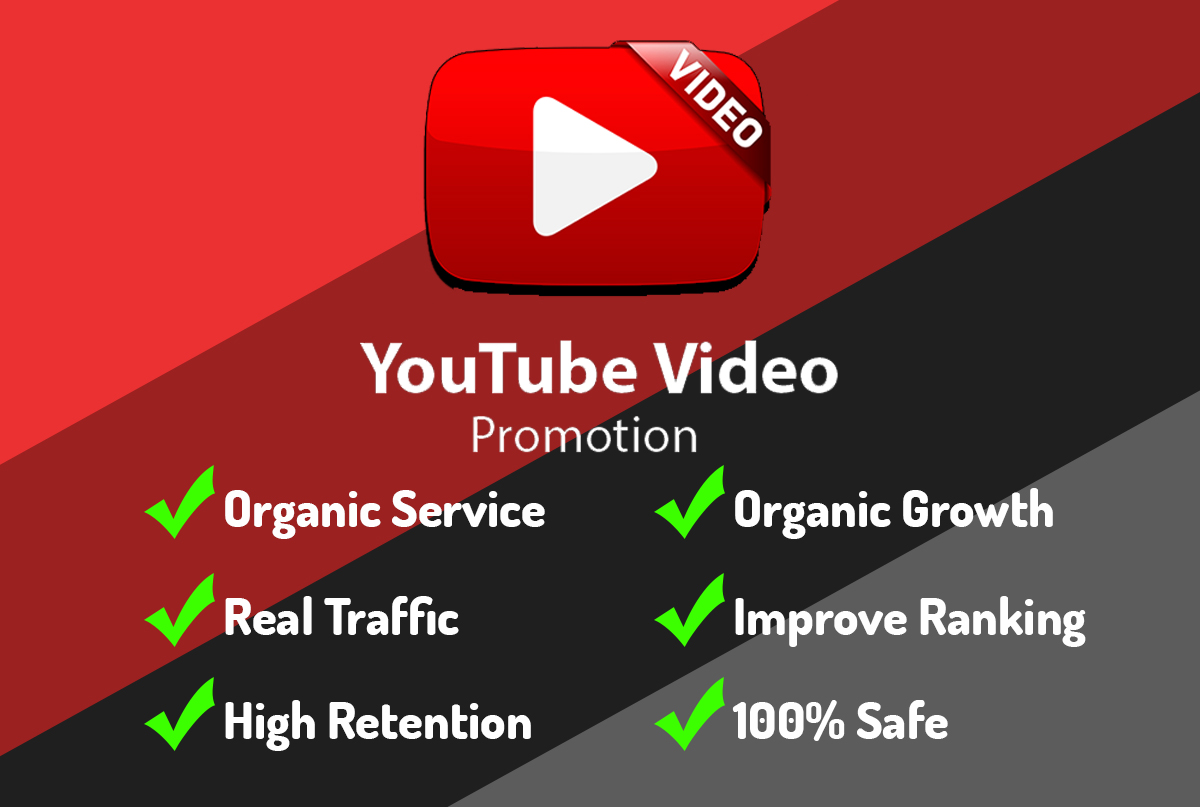 Hight Youtube Video Promotion By Real Traffic For Up SEO Raking