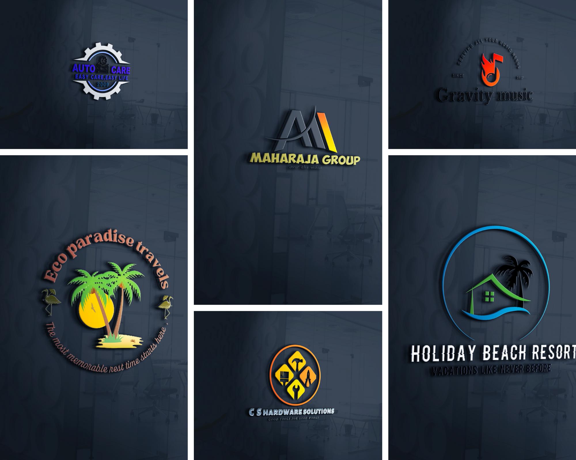 I will design a awesome unique logo