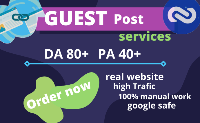 I will publish 10 free guest post on high da real traffic website