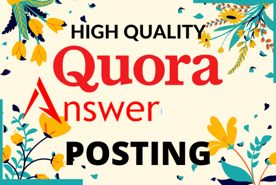 10 High-Quality Linkbulding in Quora answer Posting