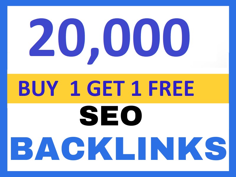create 20,000 dofollow seo backlinks