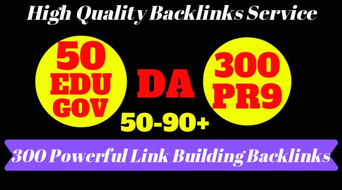 I will create 50 usa, edu permanent link building backlinks