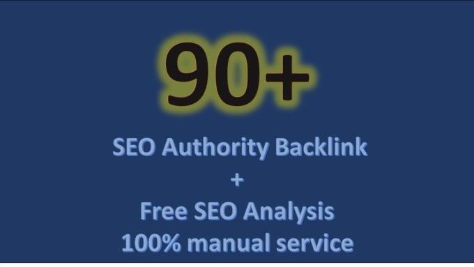 High quality SEO backlinks da90 manual link building